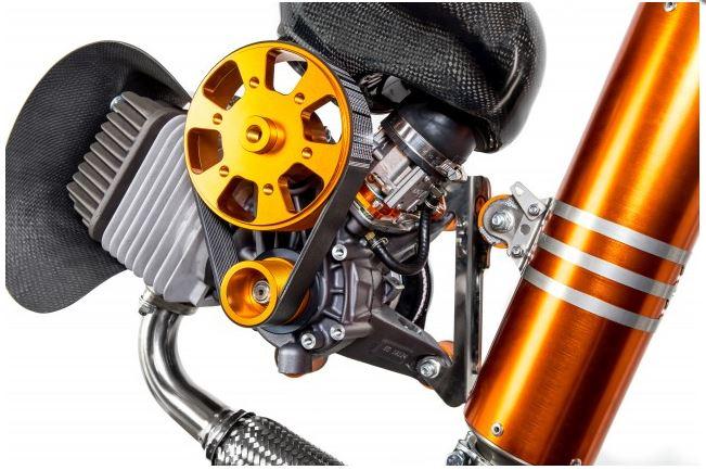 Paramotor Starter Motor for Corsair Black Devil SJCE SU 051 200W 14Tooth